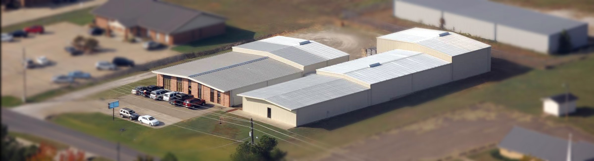 aerial view of Coursey Enterprises