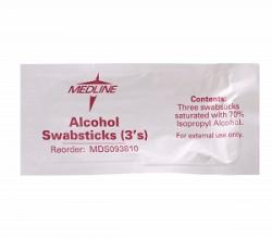 ALCOHOL SWABSTICKS 3 PKG